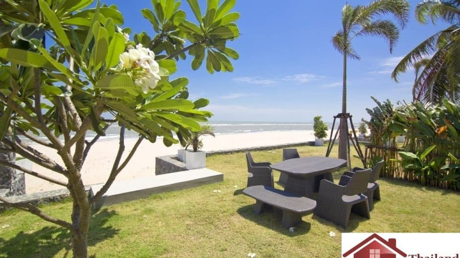 Beachfront 3 Bed 2 Bath Private Pool Villa – Kuiburi