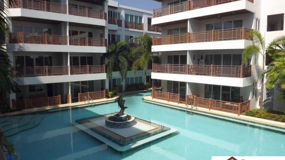 Beachfront Studio Condo For Sale – Cha Am