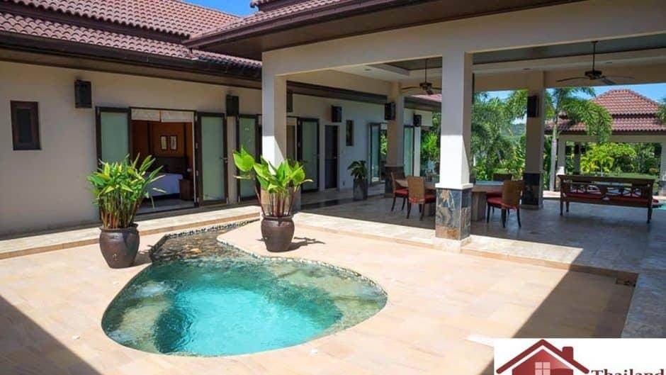 Beautiful Bali style Pool Villa With Private Lake