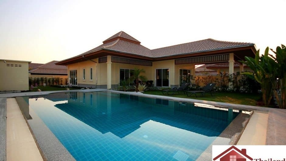 Hua Hin 3 Bed Pool Villa Ready To Move In