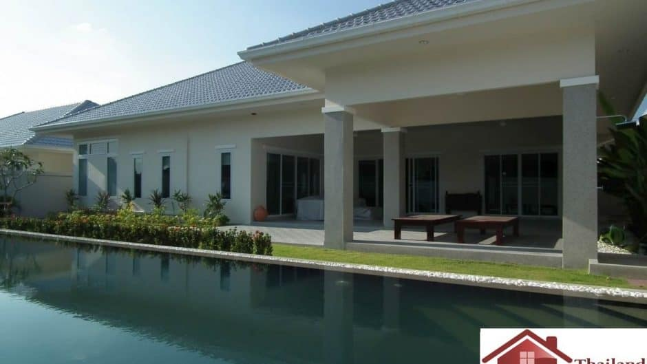 Hua Hin Luxury Pool Villa Available For Sale