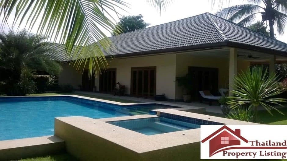 Hua Hin Luxury Pool Villa in a secured community
