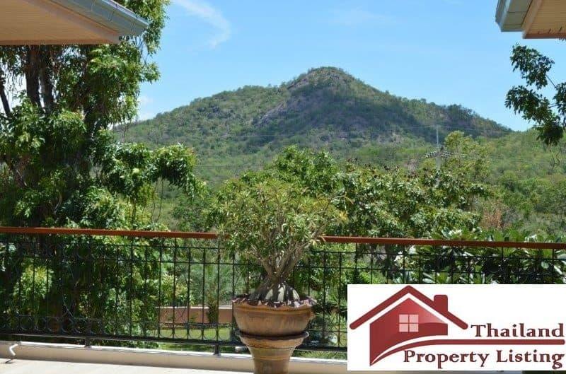 Hua Hin Villa With Beautiful Mountain view For Sale