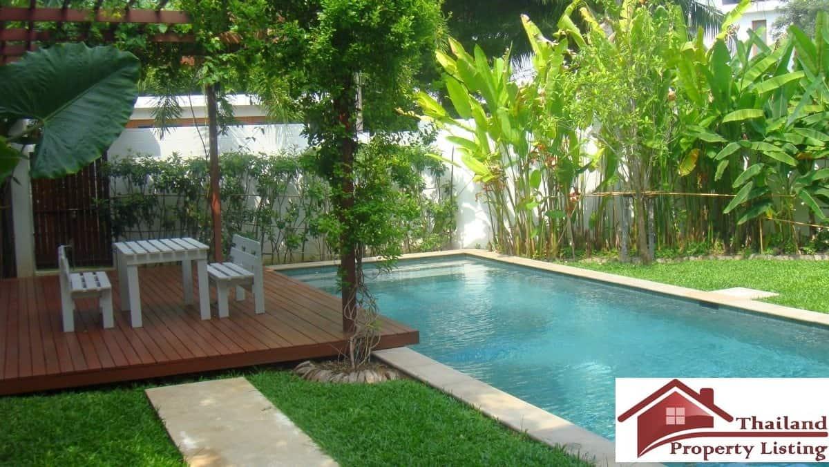 style pool villa near pranburi beach