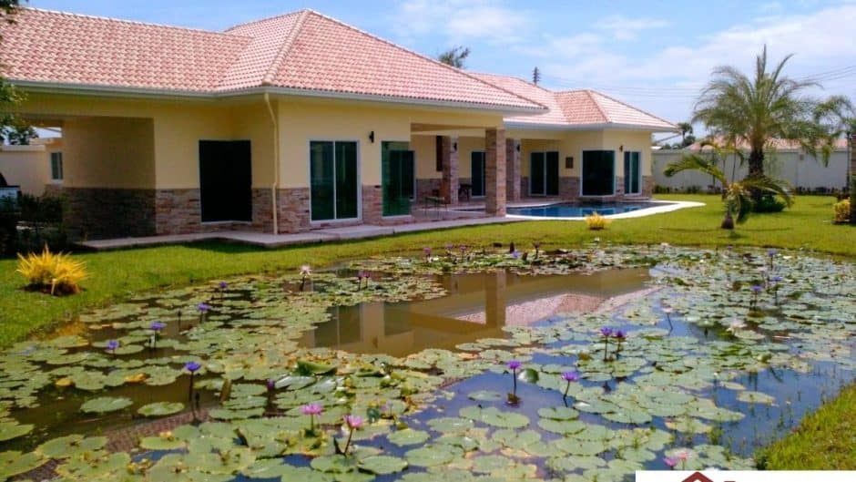 Pranburi Property 4 Bed Pool Villa Resale – Hana Village