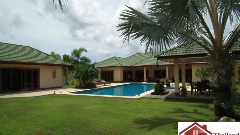 Stunning Pool Villa On Large Land Plot Hua Hin