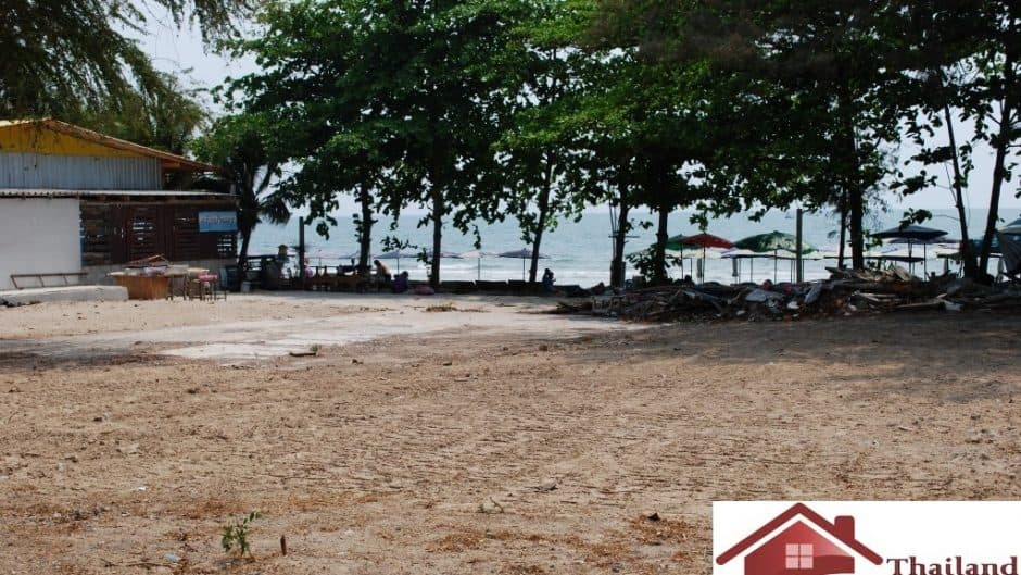 Beachfront Land  In Hua Hin – 2000 sqm. Of Empty Plot
