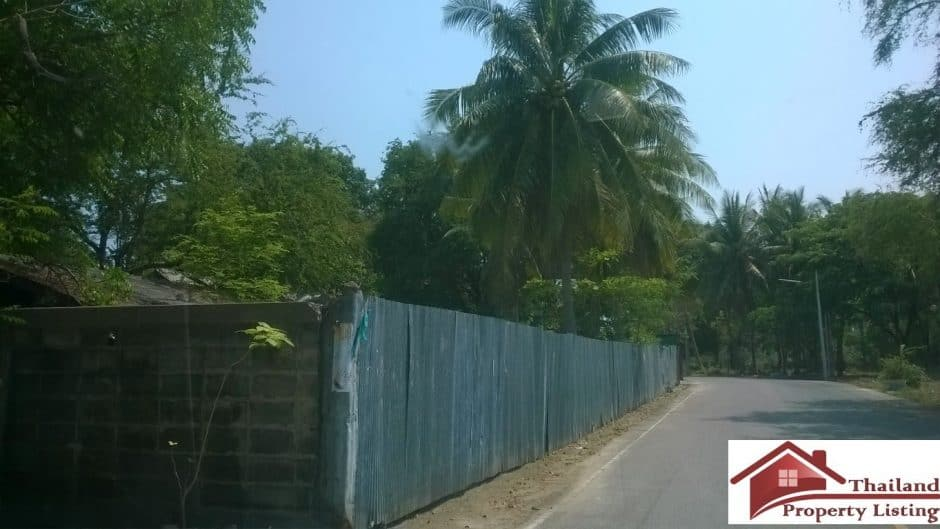 Cha Am Absolute Beachfront Land Plot For Sale – 5 Rai