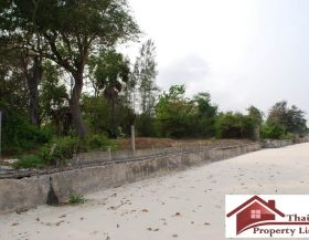 Beach front plot Hua Hin For Sale