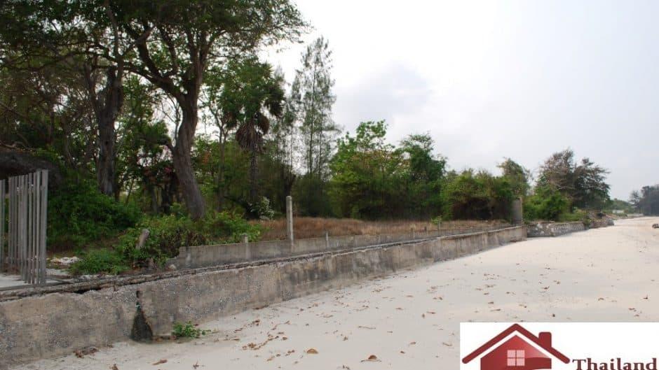 South Hua Hin Beachfront Plot For Sale – Khao Tao