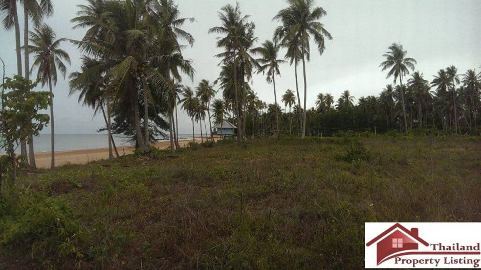 Bang Sa Phan Beachfront Plot For Investment – 14.5 Rai