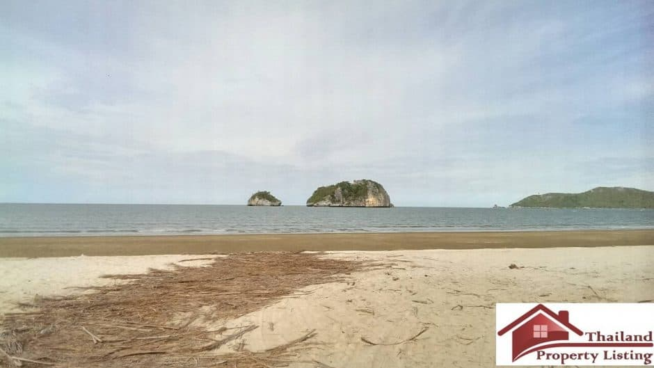 Beachfront Pranburi Land Ideal For Investment – 35 Rai