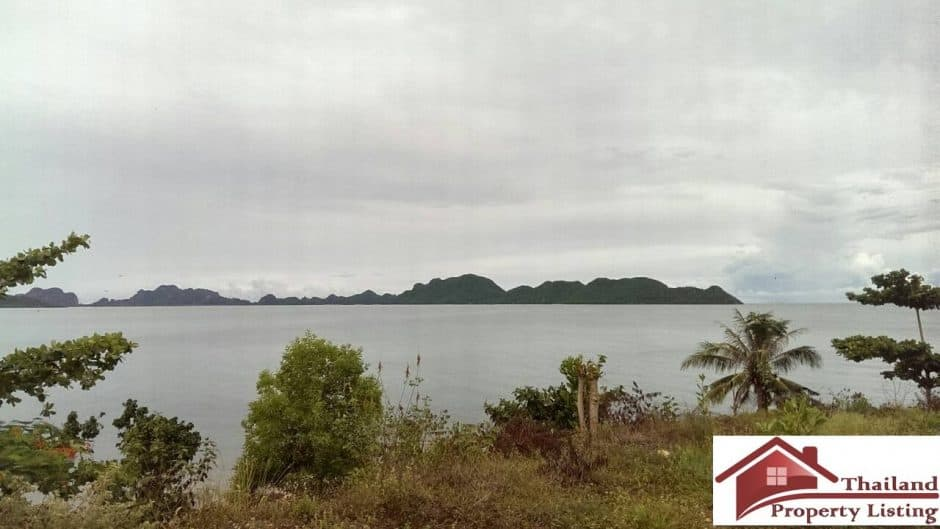 Chum Phon Beachfront Land Plot For Sale – 14 Rai