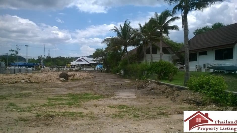 Hua Hin Beachfront Land – 2 rai 160 Sqm