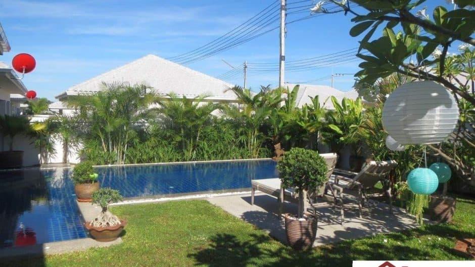 Hua Hin Pool Villa In A Matured & Secured Estate