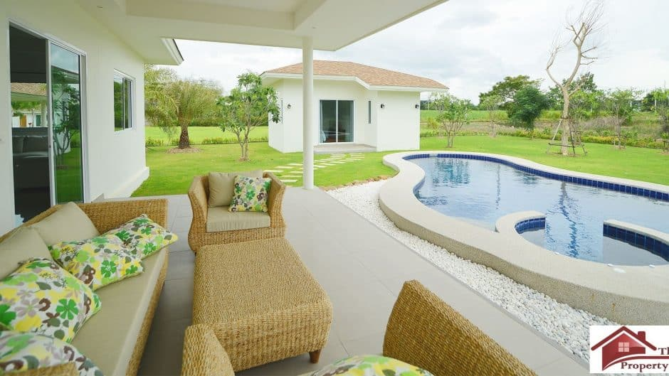 Hua Hin Private Pool Villa Available On Large Plots
