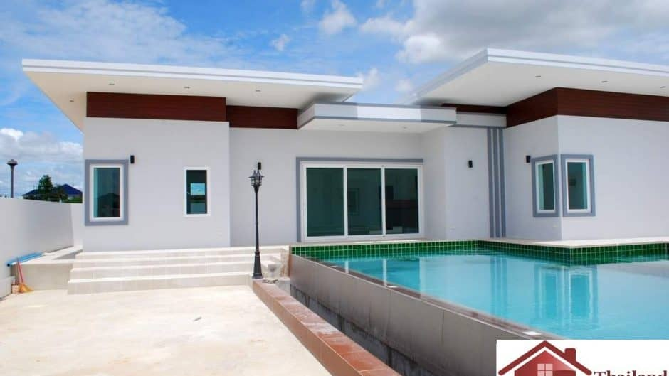 Private 6 Bedroom Pool Villa Secured Development Hua Hin