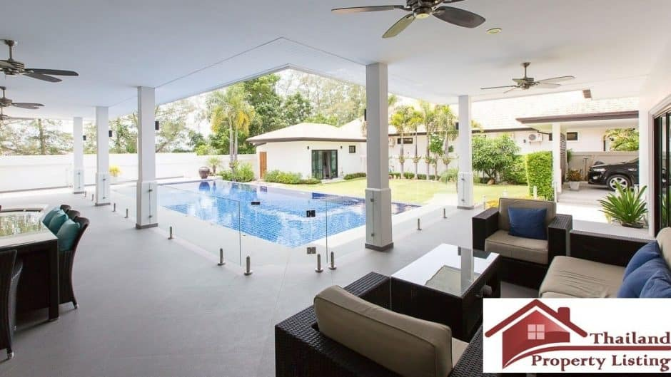 Hua Hin Private Pool Villa On A Large Plot Ready To Move In