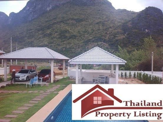 Pool Villa On A Large Plot With Sam Roi Yot Mountain Views