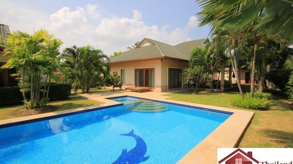 Private Pool Villa Ideal for Investment In Hua Hin