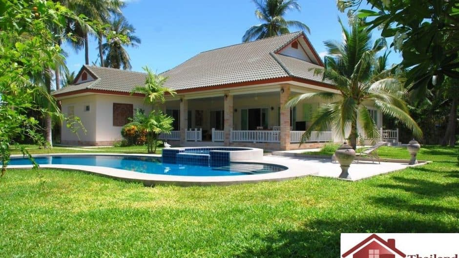 Stunning Hua Hin Pool Villa On A Large Plot