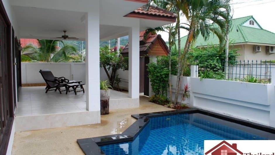 Family Pool Villa In Hua Hin Matured estate