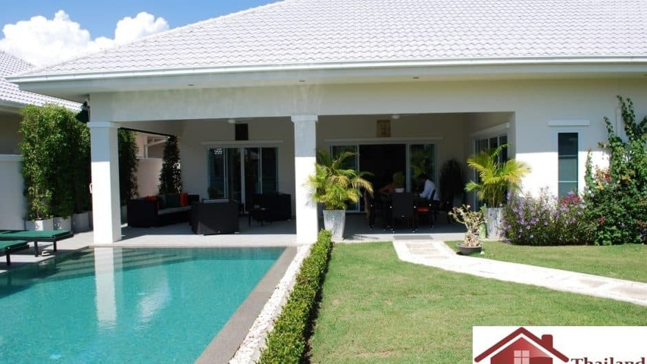Hua Hin 3 Bed Pool Villa In A Secured Development