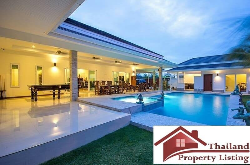 Stunning 4 Bed Pool Villa In A Secured Development