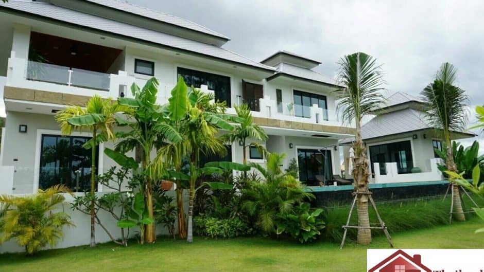 Hua Hin Private Pool Villa With Spacious 4 Bed 5 Bath