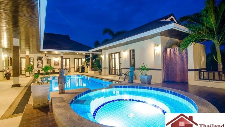 Balinese Style Property In Palm Hills Golf Course Hua Hin