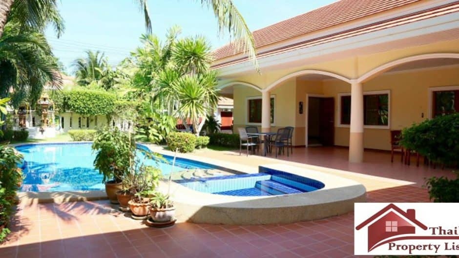 Beautiful 4 Bed Hua Hin Resale Pool Villa Near Vana Nava
