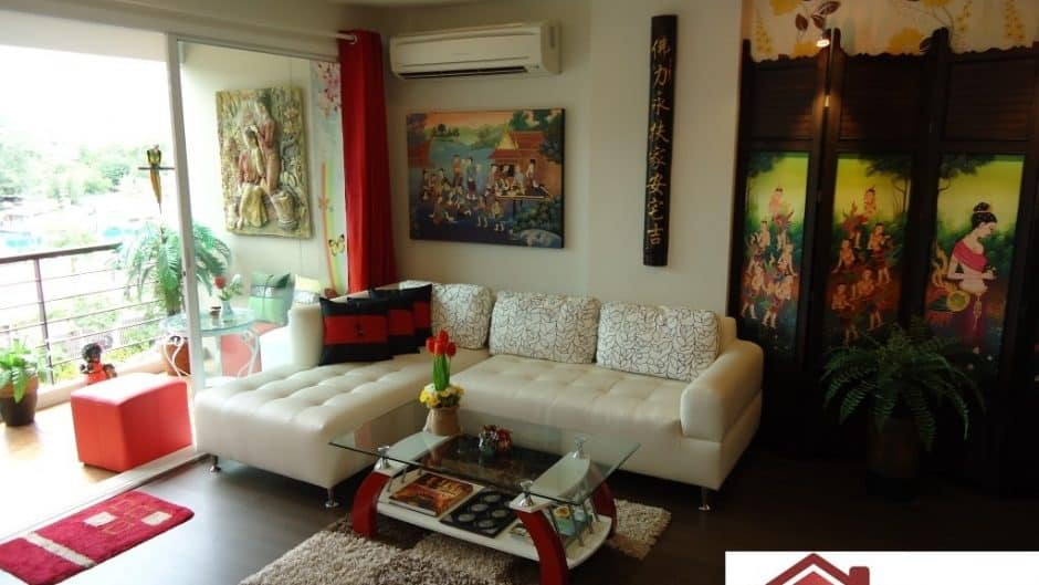 Central Hua Hin Condo Unit With Mountain View