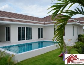 Hua Hin Private Pool Villa In A Secured Development