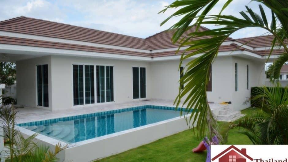 Hua Hin Private Pool Villa In A Secured Development