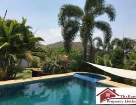 Pranburi Resale Pool Villa Located In A Secured Development