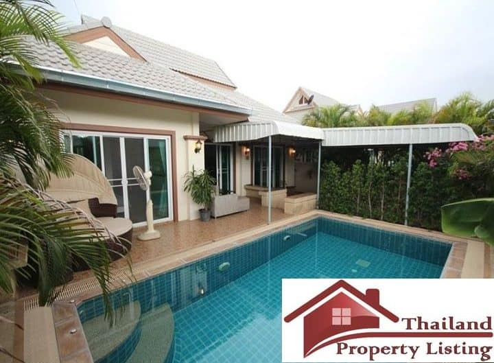 Private Hua Hin Pool Villa Located In A Matured Estate