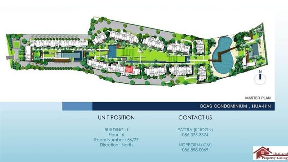 Hua Hin Modern Style Condominium Offering Spacious Living
