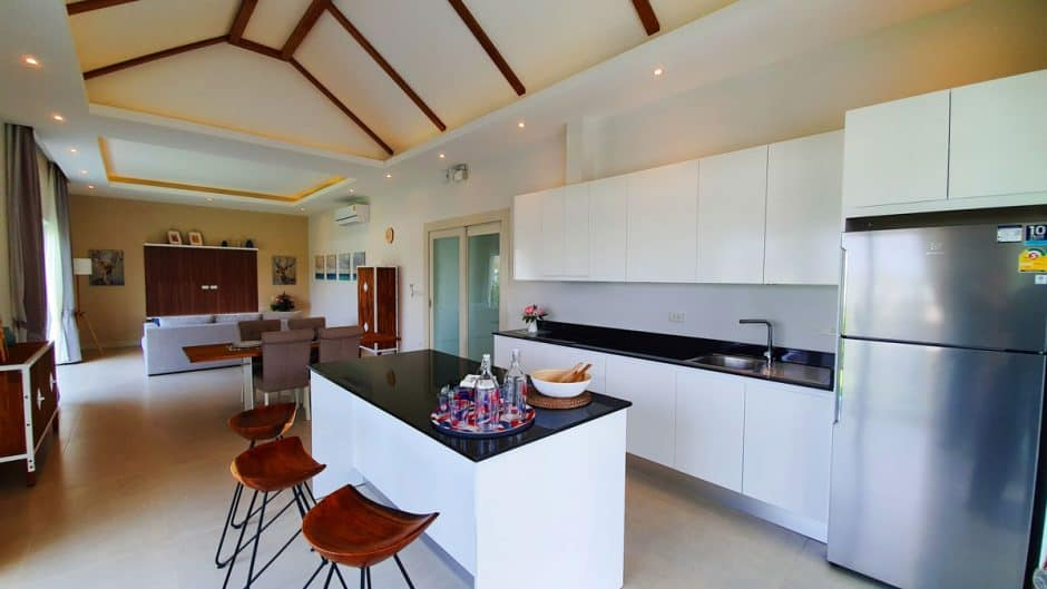 Brand New Fully Furnished Hua Hin House For Sale In Secured Development