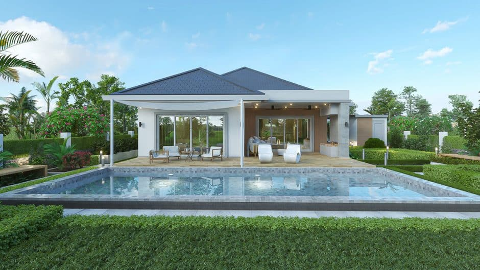 Ultra-Modern Luxurious Residential Pool Villa Project By Moda Residences Hua Hin