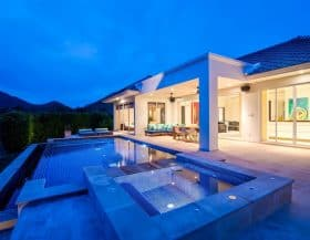 Contemporary Design Baan Ing Phu Luxury Villa For Sale Hua Hin