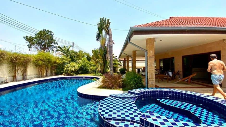 Golf Village 4 Bed 4 Bath Private Pool Villa For Sale In Hua Hin