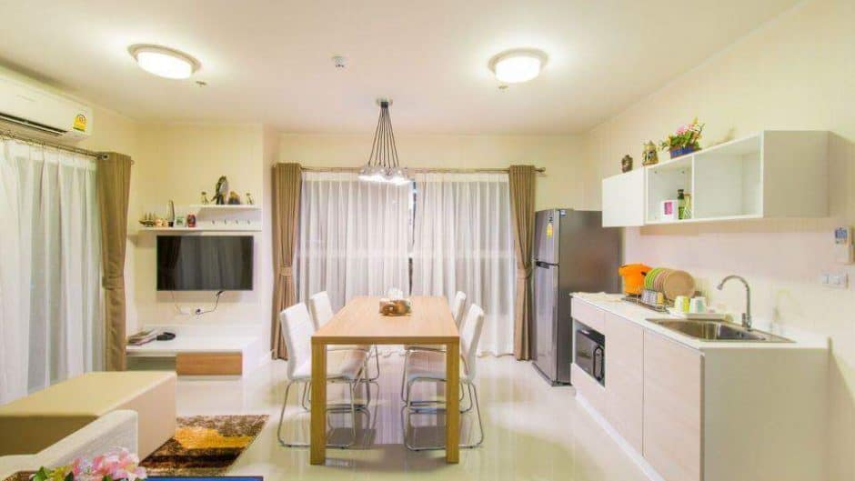 Hua Hin Baan Kiang Fah 2-Bed Condo For Sale On 26th Floor