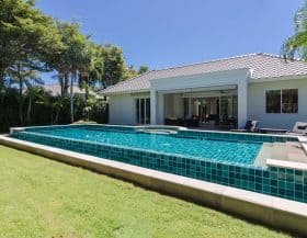 Hua Hin Pool Villa For Sale Baan Ing Phu Private Estate Development