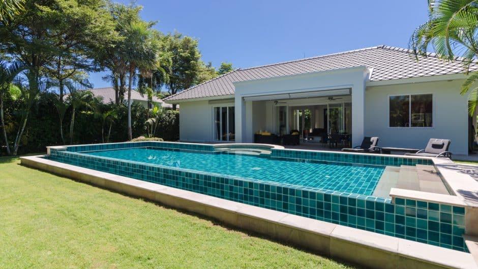 Hua Hin Pool Villa For Sale Baan Ing Phu Private Estate Development