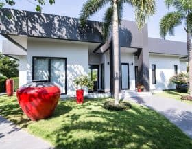 Minimalistic Design Luxury Pool Villa For Sale Hua Hin Baan Ing Phu
