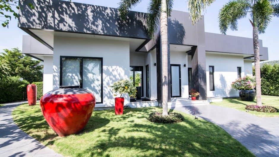 Minimalistic Design Luxury Pool Villa For Sale Hua Hin Baan Ing Phu