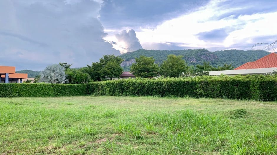 Land Plot For Sale 1146 SQM. Baan Ing Phu Hua Hin