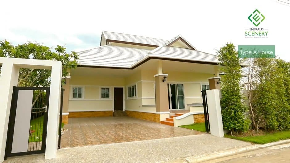 Hua Hin Residential Homes For Sale In Emerald Scenery (Type A)