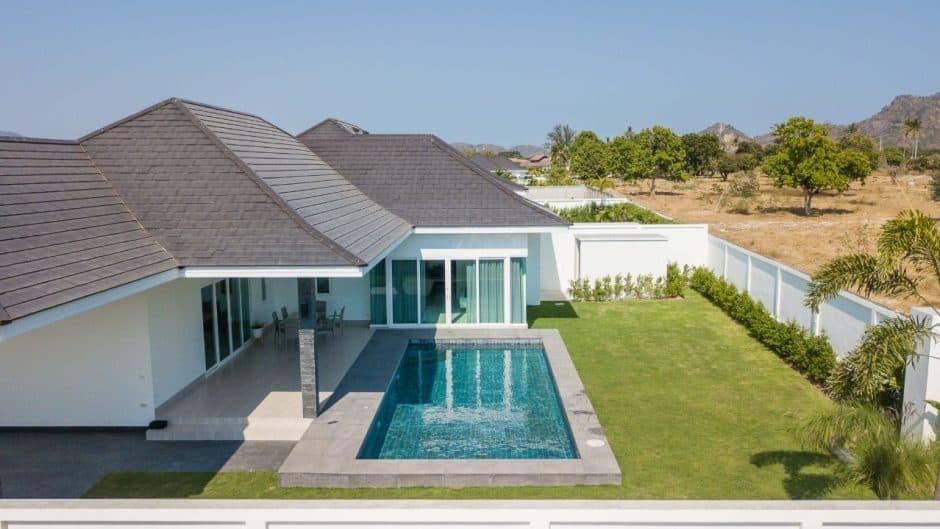 Luxury Villa For Sale In Baan Aria  Hua Hin Residential Development