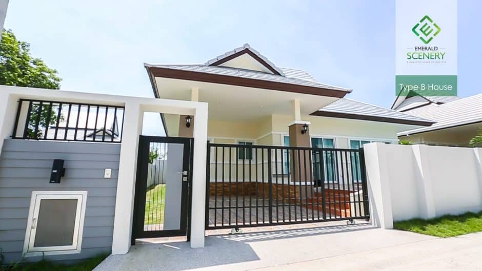 Residential Homes For Sale In Emerald Scenery Hua Hin (Type B)